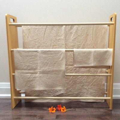 hanging hemp towels