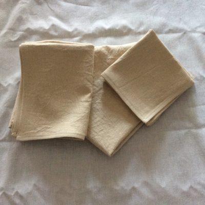 hemp canvas towels