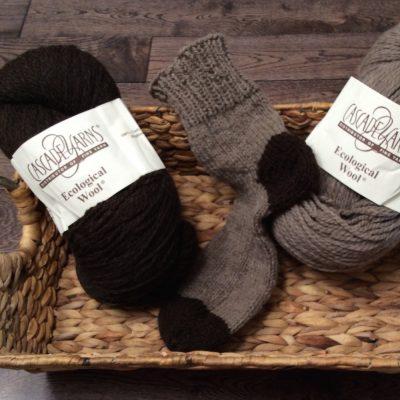 Pragmatic calf wool sock