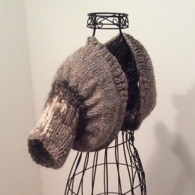 Shrug with alpaca/merino and nettle