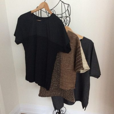 Three woolly tunics